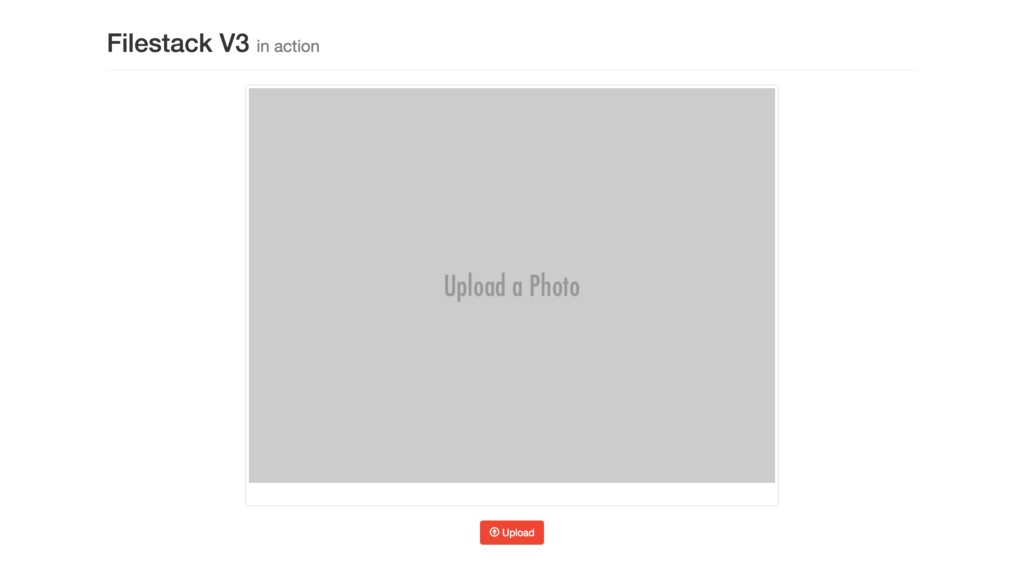 Image Uploader Example