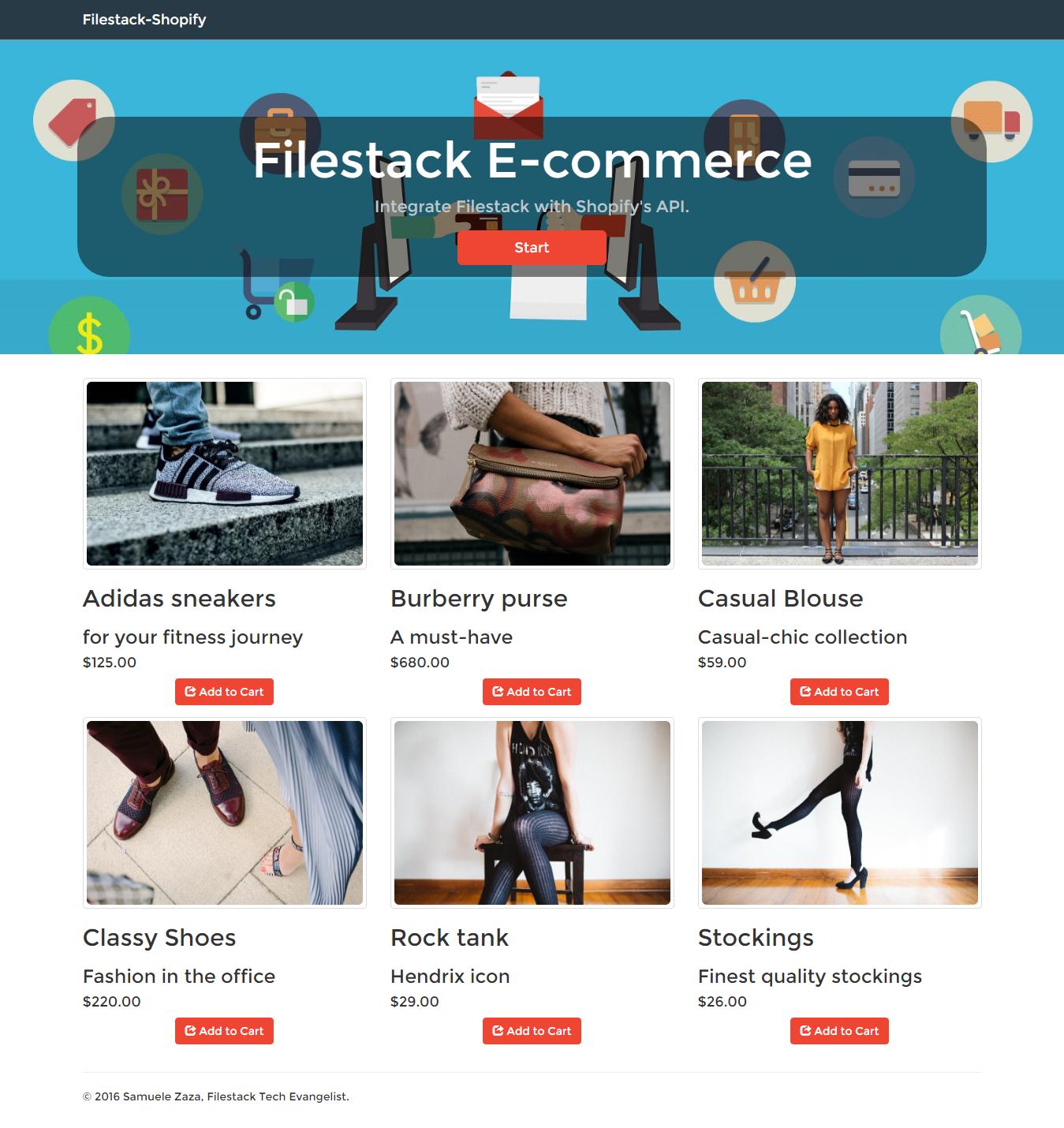 Upload User Images to Shopify with NodeJS • Filestack Blog