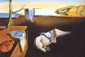 Filter Image of the persistence of memory