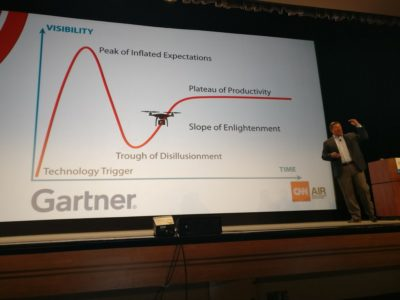 Interdrone 2017 Gartner Slide