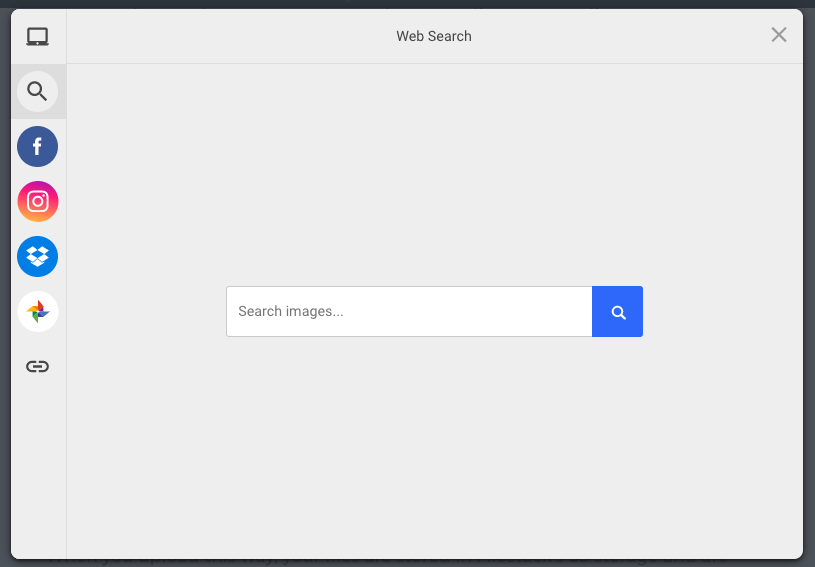 Upload with Google Image Search API