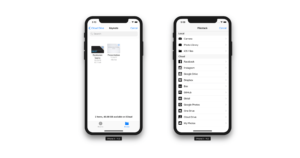 Filestack is now compatible with iOS Cloud and iOS Files