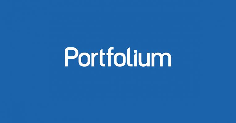 Portfolium's logo