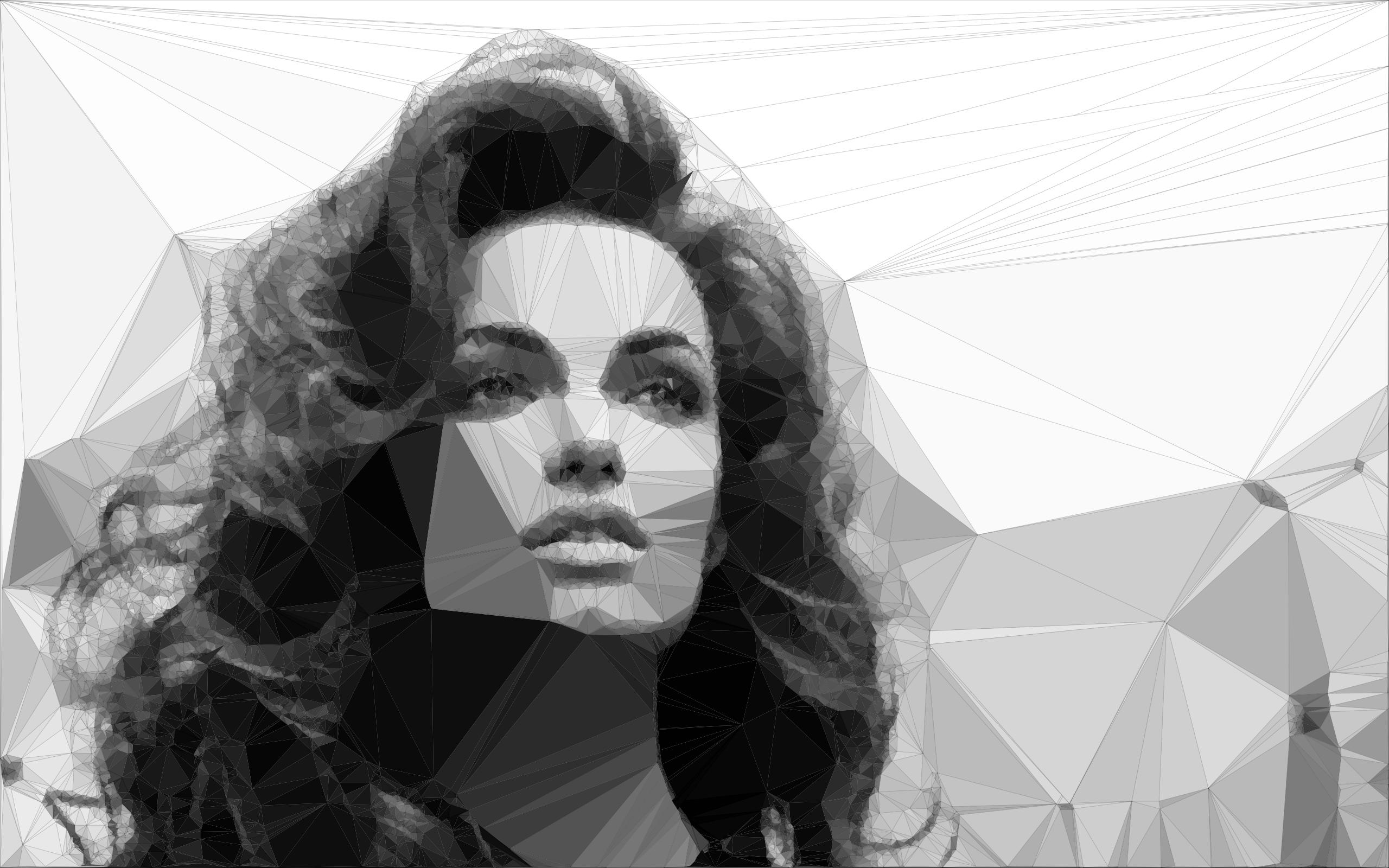 Example of image triangulation